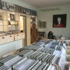 Im Innenraum von Vinyl-Audio-Design