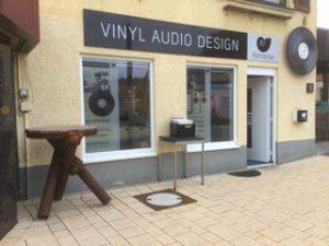 Vinyl-Audio-Design von aussen