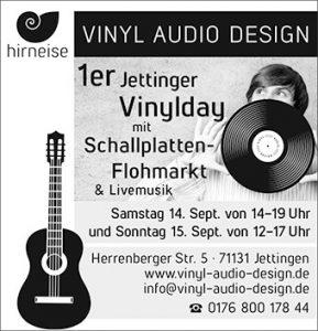 Anzeige erste Jettinger Vinylday
