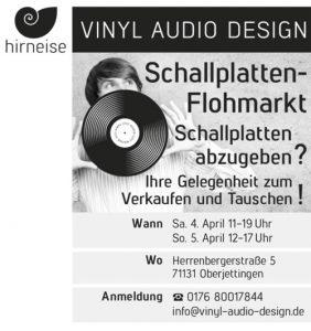 Schallplattenflohmarkt Jettingen