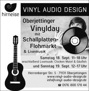 Anzeige Vinylday 2021